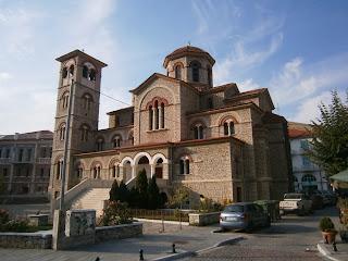 ο μητροπολιτικός ναός του αγίου Παντελεήμονα στην Φλώρινα