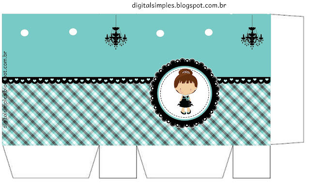 Breakfast at Tiffany's Baby: Free Printable Boxes.