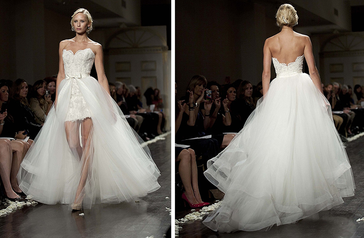 2 IN 1 Wedding Dresses: Wedding Dress Trends Wonder: 2 In