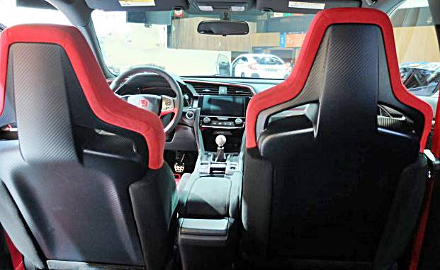 Honda Civic Type R Prototype Interior
