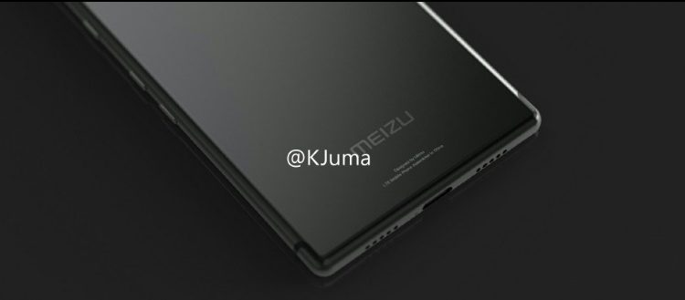 Leaked images of Meizu Pro 7
