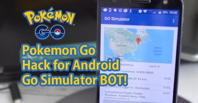 BOT Pokemon Go Dengan BOT Simulator Apk Terbaru Tanpa Root