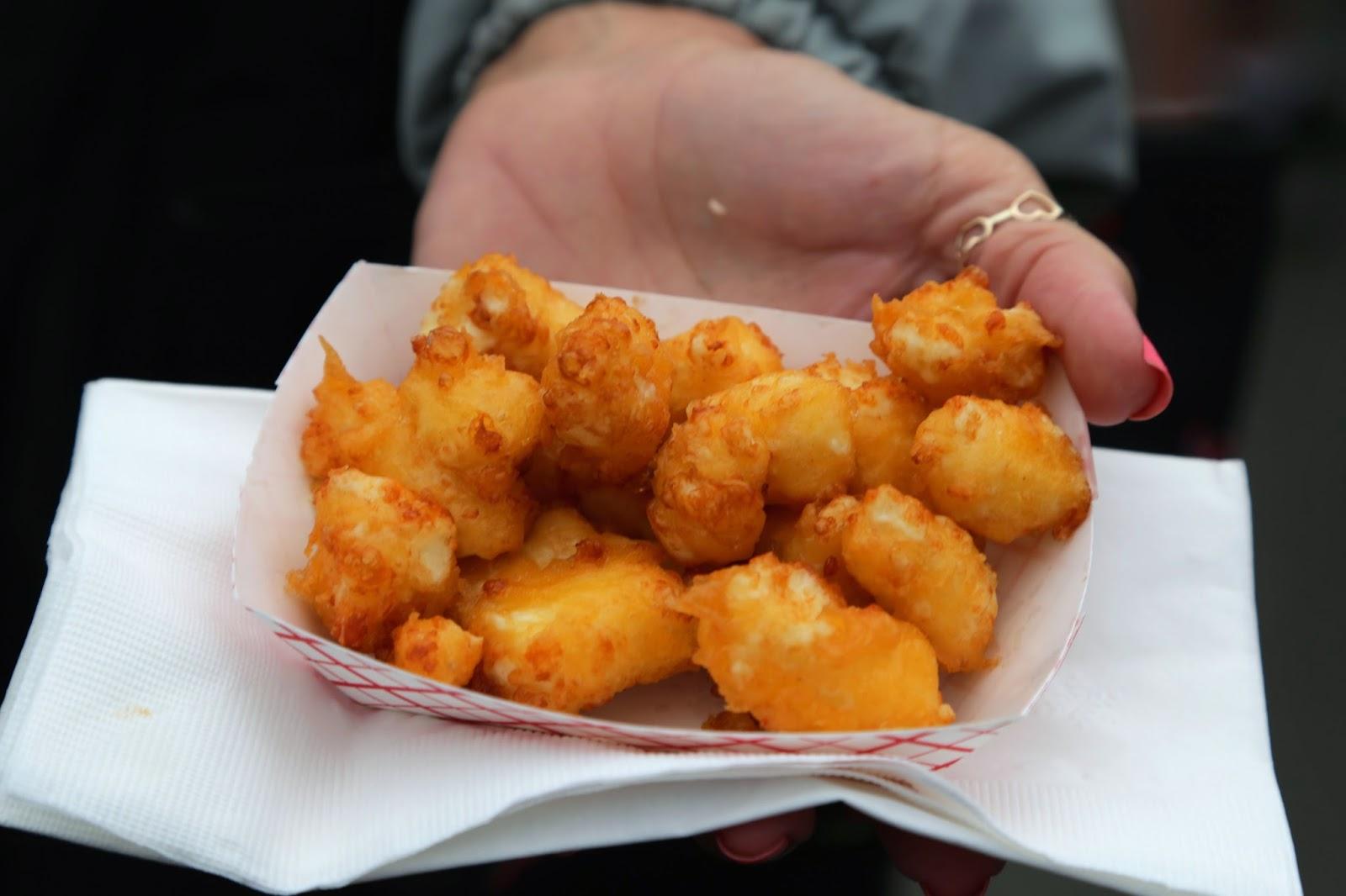 Fried cheese curds, Alaska State Fair