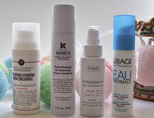 Serums super hidratantes y que aguantan el maquillaje más tiempo