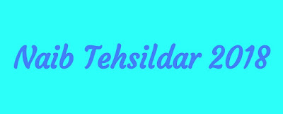 Download Naib Tehsildar exam paper 2018
