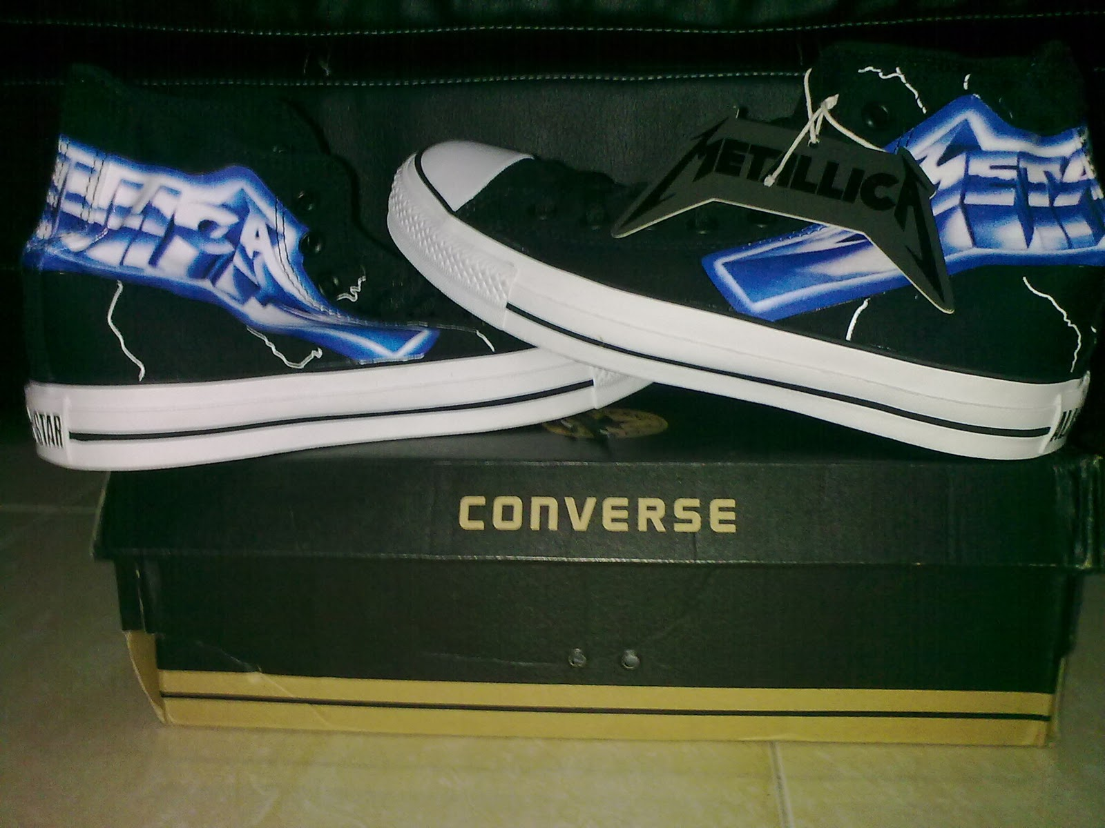a6c888d0b6ea2d Shoes The Limited Shop  em Garage Metallica Edition Converse Ride qwZvtyAS