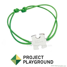 Princess Sofia Style PROJECT PLAYGROUND Bracelet and IRO Astrid Sleeveless Blouse