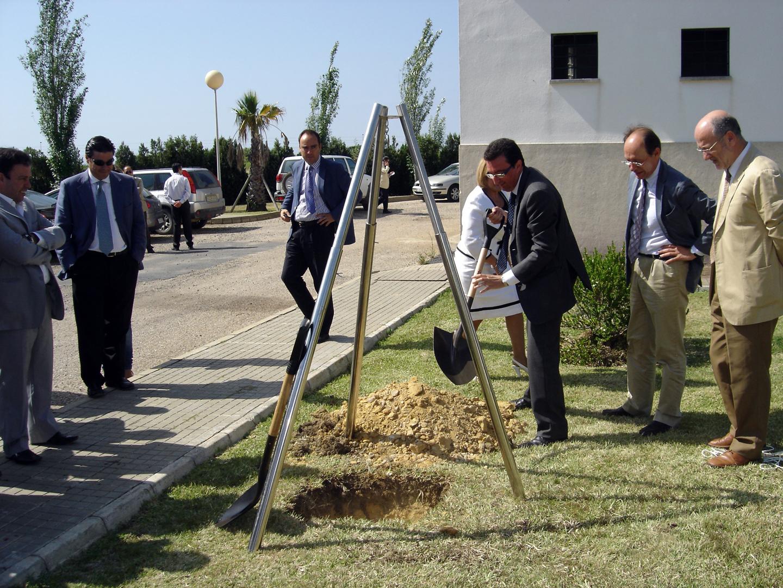 Candiler as colocada la primera piedra de la ampliaci n for Depuradora aguas residuales