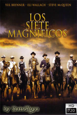 Los Siete Magnificos (1960) [1080p] [Latino-Castellano-Ingles] [MEGA]