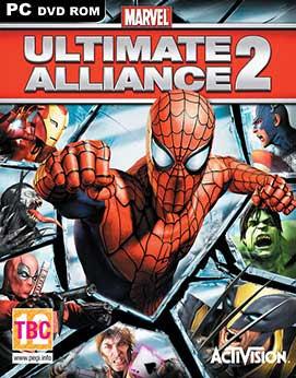 غلاف لعبة الأبطال الخارقون The Marvel Universe