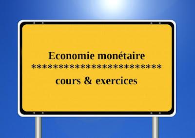 Economie,monétaire,s4