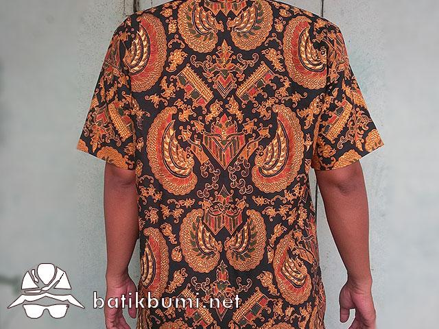 batik motif gurdo (garuda)