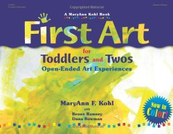 First Art : Art Experiences for Toddlers and Twos, a book review PLUS toddler art resources