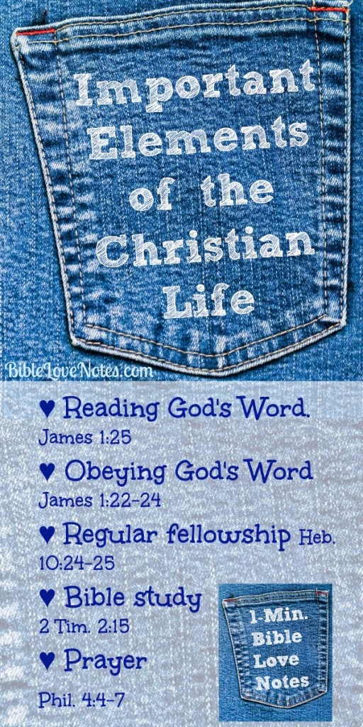elements of Christian life, ways to keep your faith, fellowship, prayer, Bible study