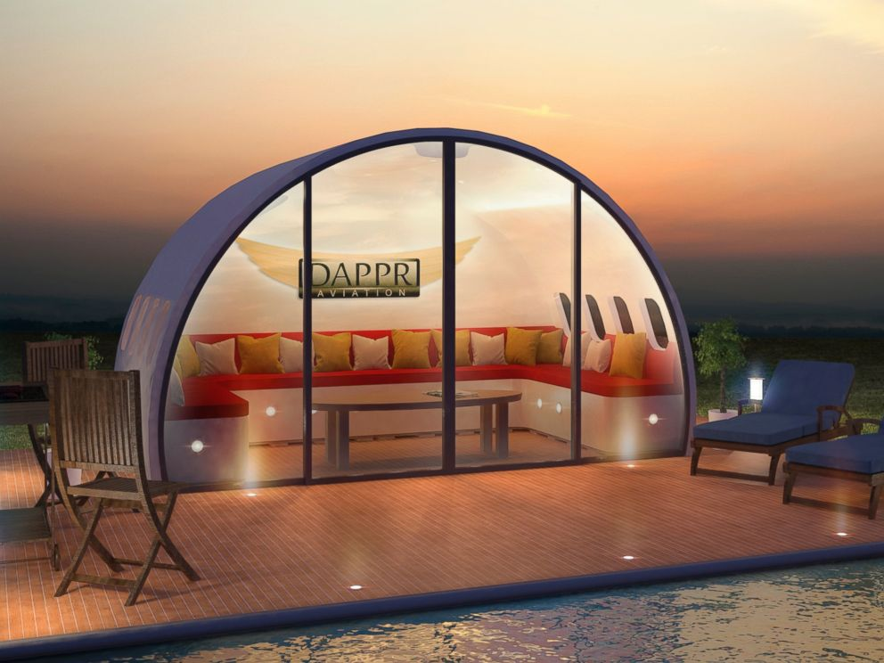 Though Their First Aeropod Has Been Designed To Function As A Garden Room,  Complete With Aviation Inspired Furniture, The Pods Can Be Turned Into  Anything ...
