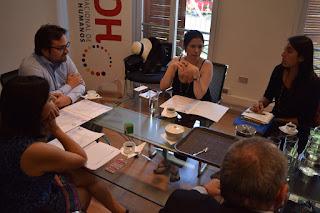 Colegio de Periodistas fija agenda de trabajo anual con INDH