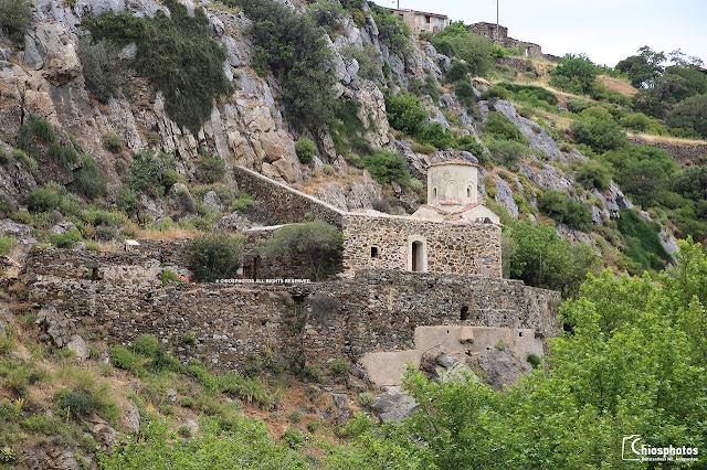 Η Βυζαντινή εκκλησία της Παναγίας Αγιογαλούσαινας (ΒΙΝΤΕΟ & ΦΩΤΟ)