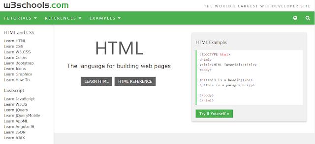 تعلم لغات البرمجة من الصفر الى الاحتراف مع هذا الموقع