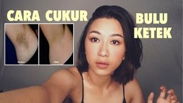Tanpa Endorse, YouTubers Cantik Ini Buat Video Cara Cukur Bulu Ketek