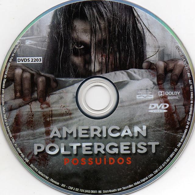 Label DVD American Poltergeist Possuídos (Oficial)