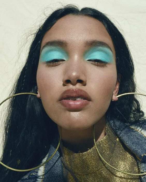 80s make up: blocos de cores nos olhos são o próximo trend de maquiagem