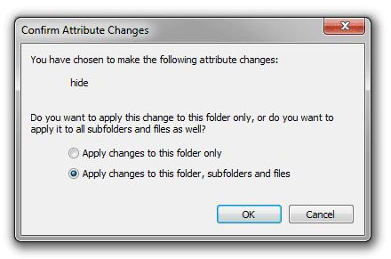 Bấm chọn OK để xác nhận thay đổi