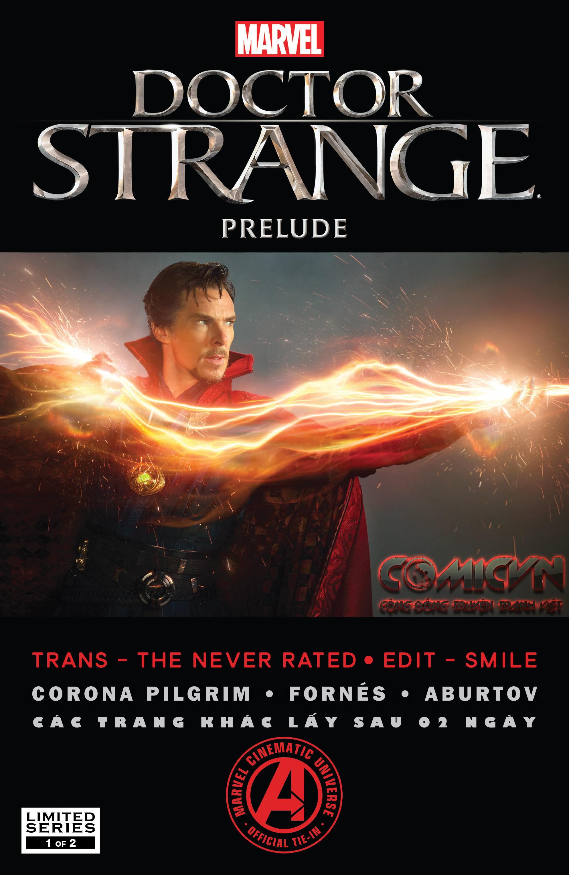 Doctor Strange Prelude kỳ 1 trang 1