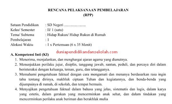 download silabus kurikulum 2013 sd revisi 2016 pdf
