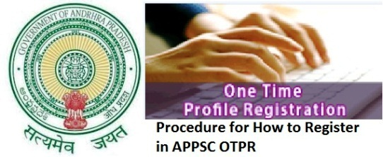 how to register appsc one time profile registration