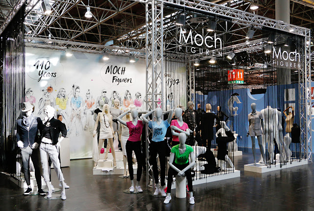 Mannequins, Retaildesign, Messe Düsseldorf, Scissorella
