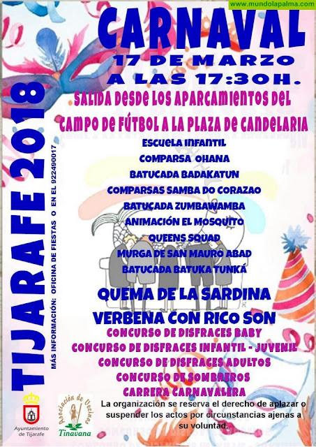Tijarafe celebra su carnaval con actos para toda la familia