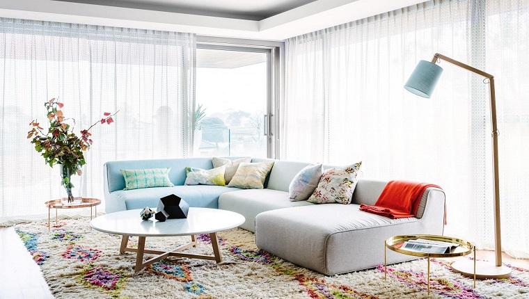 18 ideias de salas modernas com cortinas decora o e ideias for Cortinas de sala modernas 2016