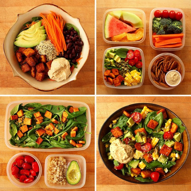 3 Healthiest Vegan Salads and how to prepare Them