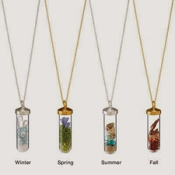 Seasonal necklace