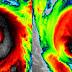 2 ciclones monstruosos golpearan el planeta en las proximas horas