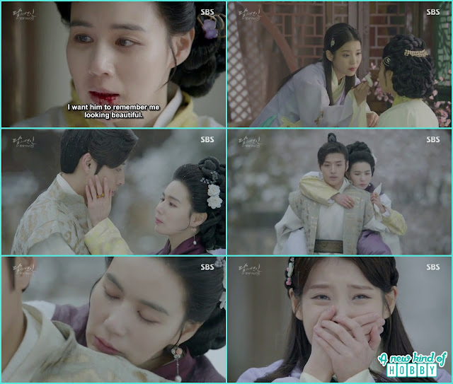 8th prince wife myung hee died hae soo started crying - Moon Lovers: Scarlet Heart Ryeo - Episode 5 Review