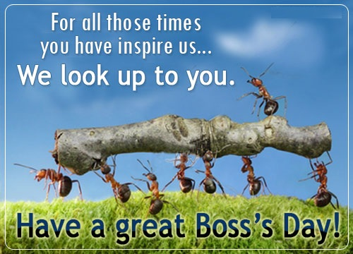 Happy Boss Day 2016 Quotes, Messages, Wishes, Sayings, Greeting Cards