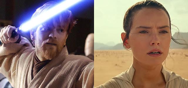 'Star Wars': Rey quase teve ligação com Obi-Wan Kenobi, revela Daisy Ridley