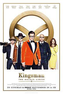 Sinopsis pemain genre Film Kingsman: The Golden Circle (2017)