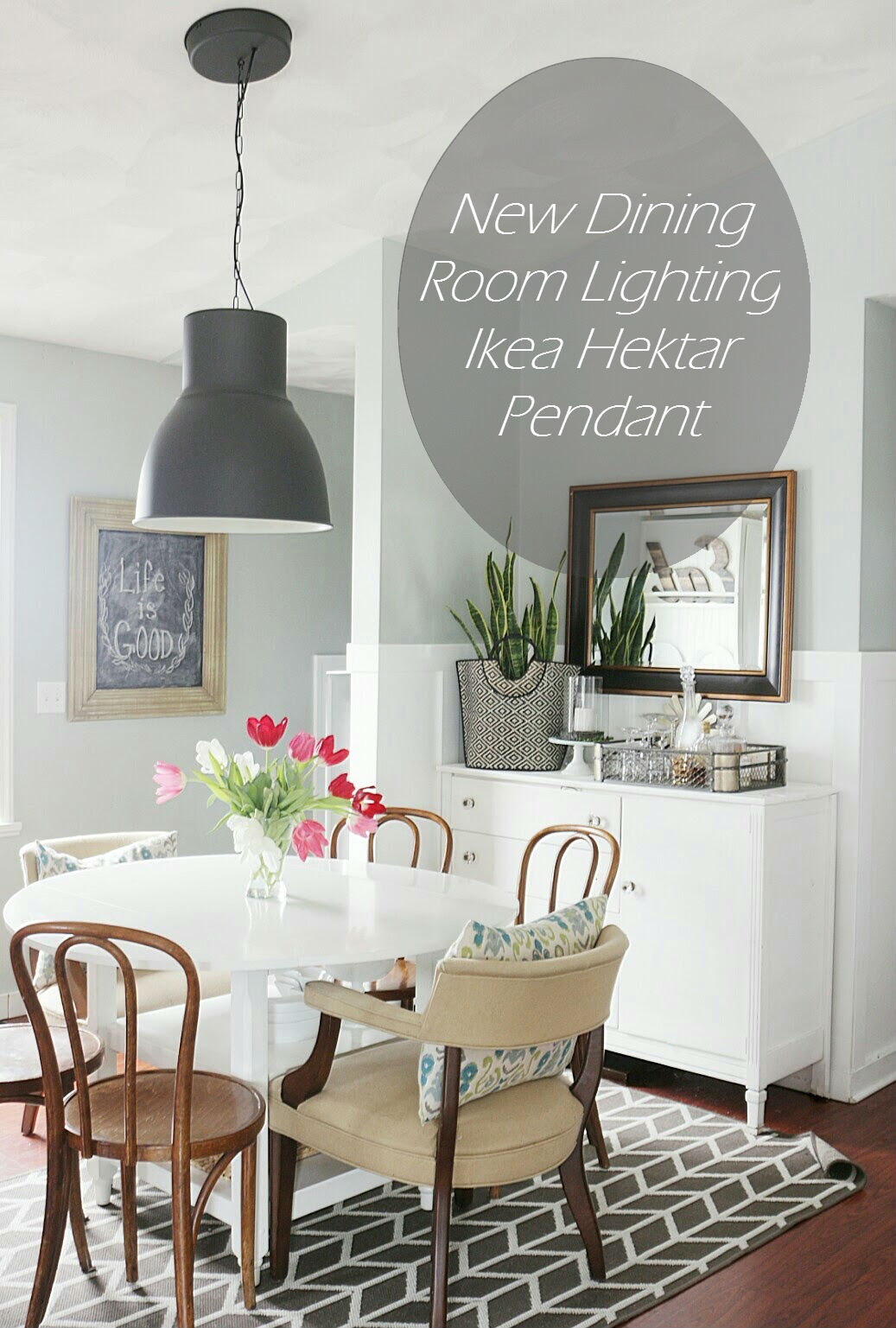 New dining room lighting ikea hektar pendant made by carli new dining room lighting ikea hektar pendant aloadofball Images