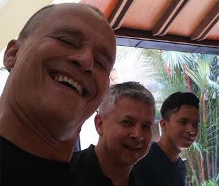 Barry Prima Selfie
