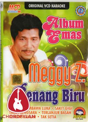 Lirik dan Chord Kunci Gitar Benang Biru - Meggy Z