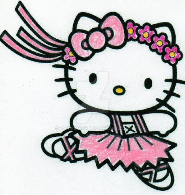 Hello Kitty Ballerina  Hello Kitty Ballerina Cartoon