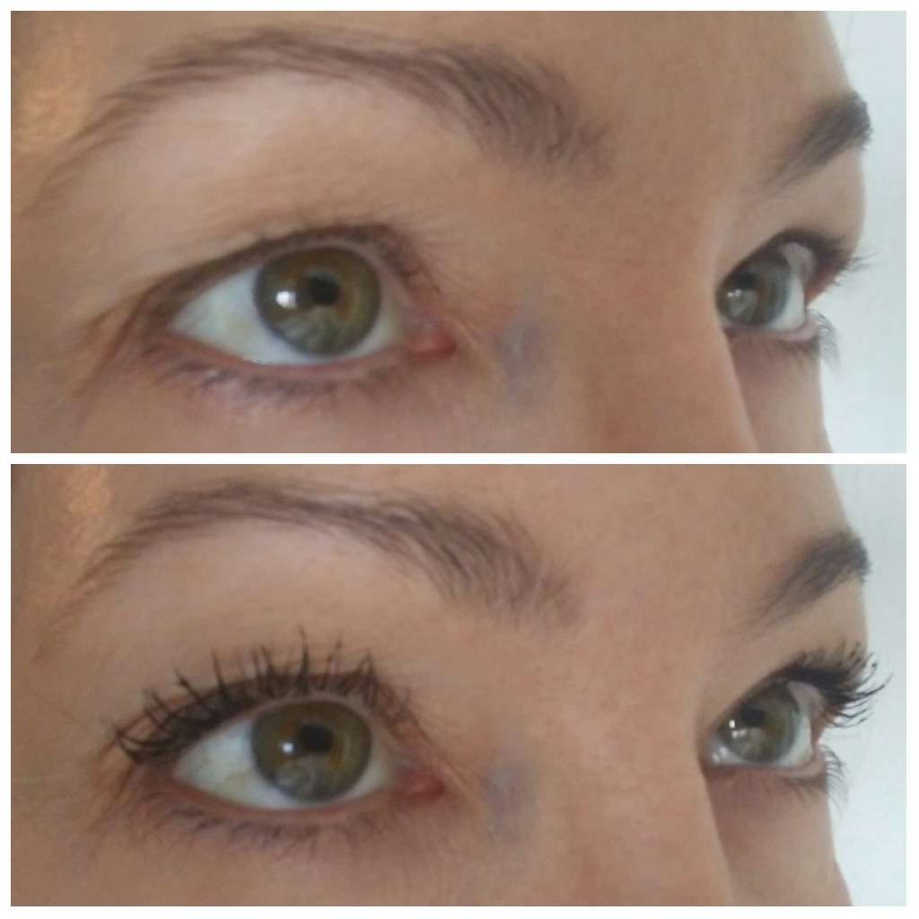 lash curler before and after. before and after using eyelash curler mascara lash