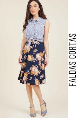 Faldas cortas ala moda