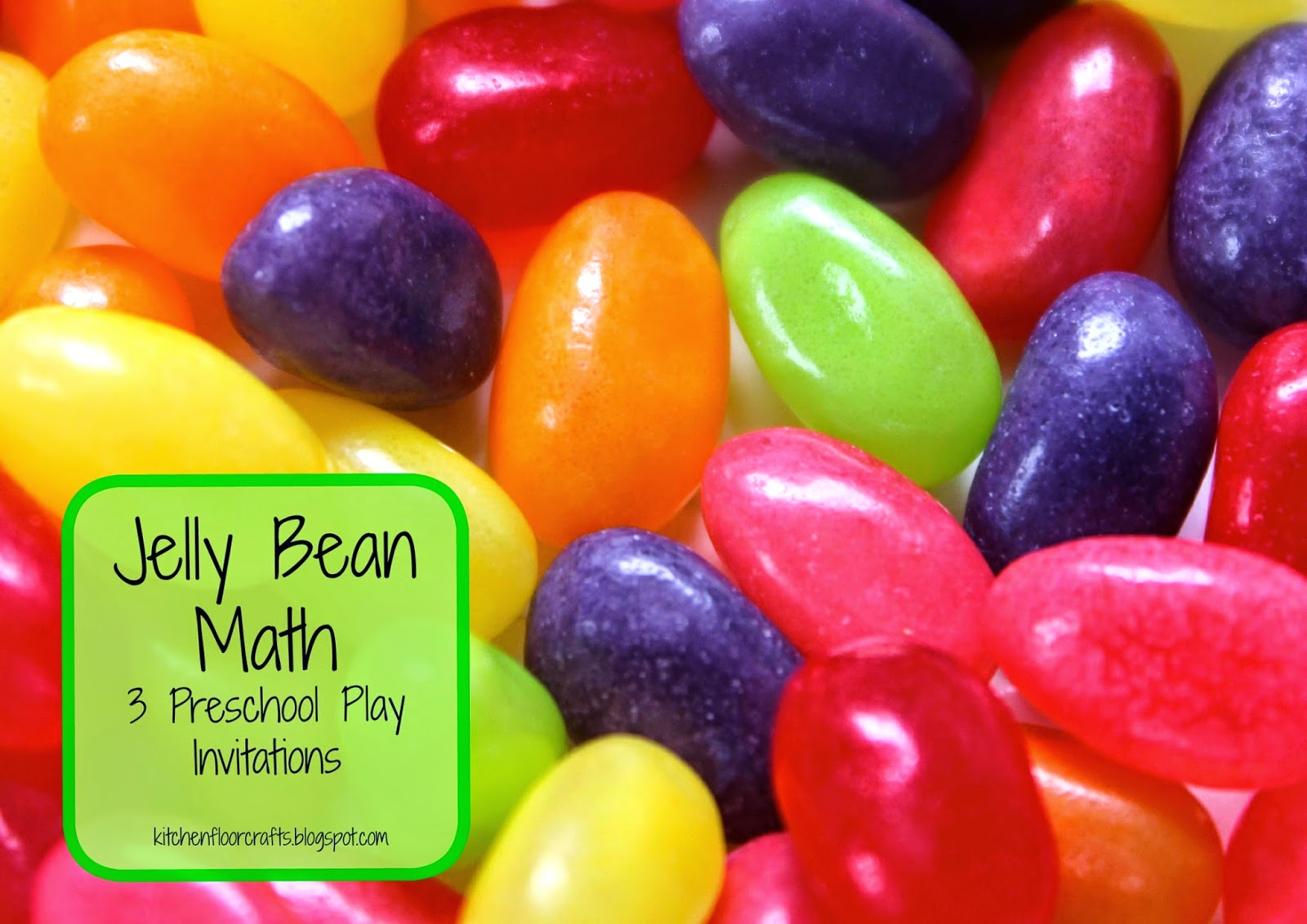 Kitchen Floor Crafts Jelly Bean Math 3 Preschool Play