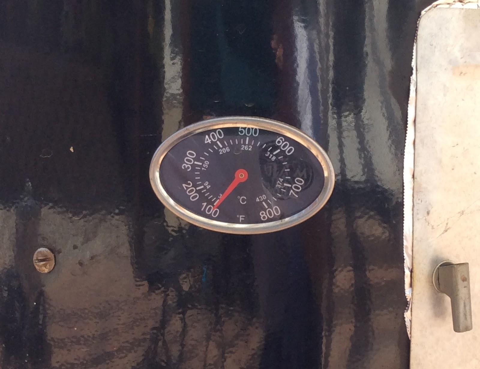 Optimal cold smoking temperature: 100° F or less