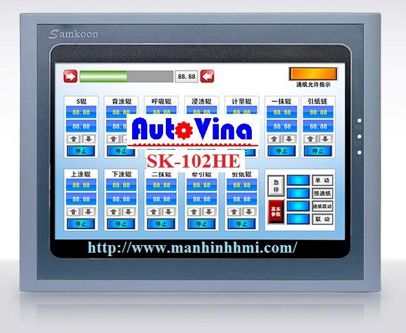Đại lý phân phối màn hình cảm ứng HMI Samkoon 10 inch SK-102HE, SK-102AE, SK-102BE