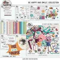 Kit : Be Happy And Smile by Akizo Designs