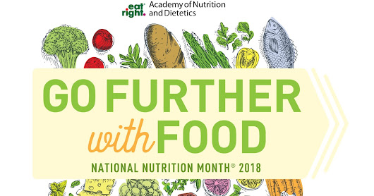 Happy National Nutrition Month® and Happy Registered Dietitian Nutritionist Day! #eatrightNJ #RDchat #RDNday #NNM @rutgersalumni @eatright @kidseatright